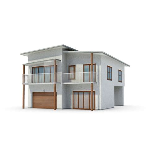3d model ad house exterior cgtrader white modern house 3d model cgtrader com