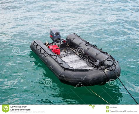 inflatable ocean fishing boats inflatable boat on the ocean stock photo image 54454240