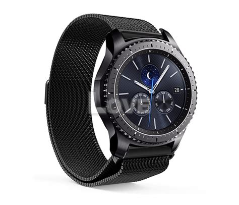Milanese Samsung Gear S3 Classic Frontier Stainless Steel Band milanese magnetic steel band for samsung gear s3 frontier classic ebay