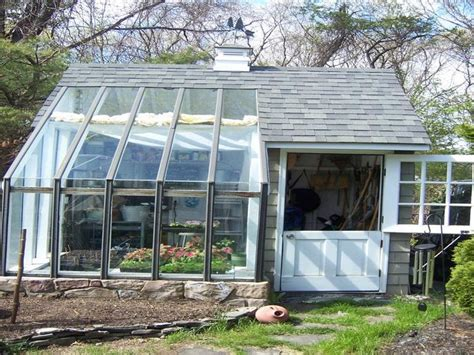 Potting Shed Greenhouse by Greenhouse With Potting Shed Pitter Patter N Potting