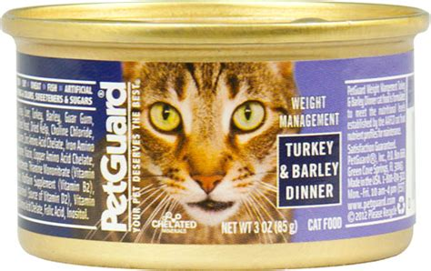 weight management canned cat food pet guard petguard canned cat food weight management for
