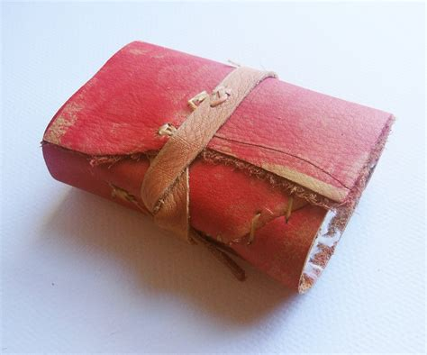 Handmade Leather Journals With Handmade Paper -