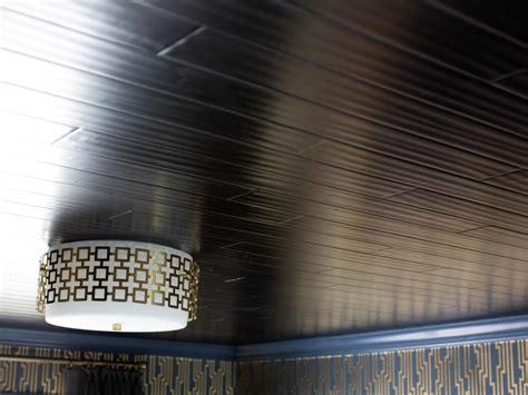 install tongue  groove wood floors   ceiling hgtv