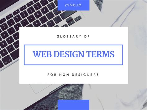design nomenclature definition zymo interactive glossary of web design terms for non