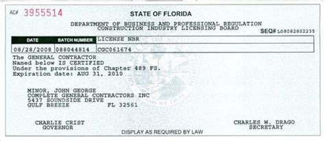 Plumbing License Florida by Licenses Damage Flood Damage