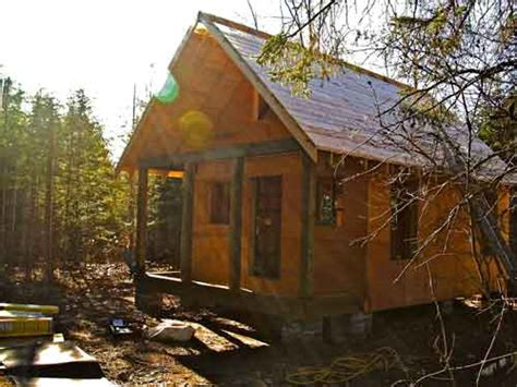 Build Yourself Cabins by Simple Affordable Build It Yourself Approach To A Cabin In The Woods Stevemaxwell