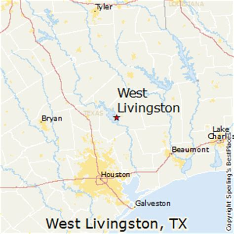where is livingston texas on a map best places to live in west livingston texas