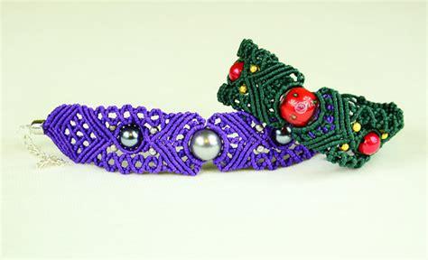 Make Macramé Cord Bracelet Patterns Home - big eye macrame bracelet tutorial