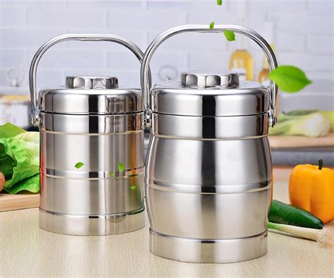 Promo Lunch Box 3 Susun Karakter Stainless Steel portable 3 layer layer stainless steel thermal lunch boxs thermal bento box leak proof