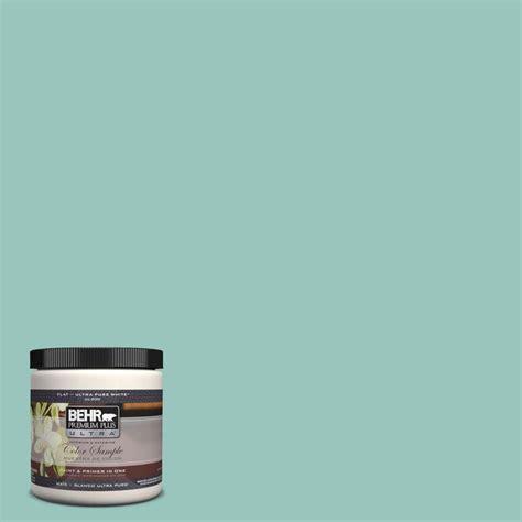 behr premium plus ultra 8 oz 490d 4 eucalyptus leaf interior exterior paint sle 490d 4u