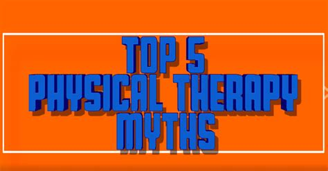 Therapy Fridays In This Saturday The Best From Around The Blogesphere This Week Second City Style Fashion by Top 5 Fridays Top 5 Physical Therapy Myths Modern