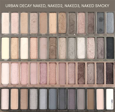 Decay Smoky decay smoky eyeshadow palette review