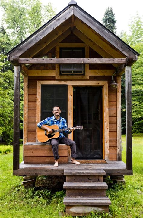 tiny house living tuesday s tiny house tour living tiny ethan s tiny vermont abode home tour and