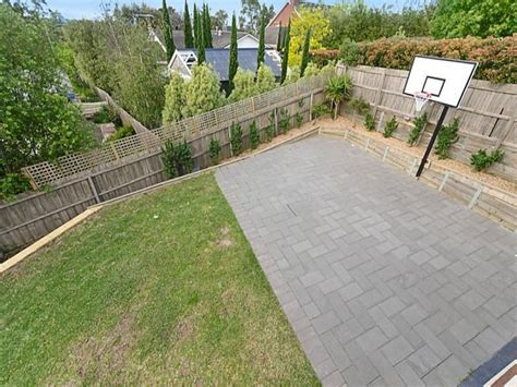 diy backyard basketball court pinterest the world s catalog of ideas