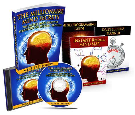 Mind Secrets the millionaire mind secrets the millionaire mind