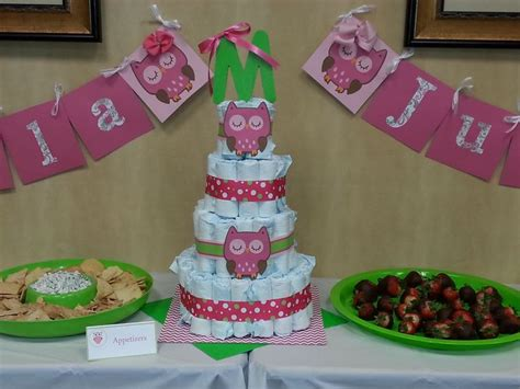 baby shower set up owl baby shower cake table set up baby shower ideas babies owl and showers