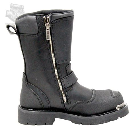 mens harley riding boots 95115 harley davidson 174 mens shift black mid cut riding