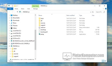 membuat bootable windows xp tanpa software cara paling mudah membuat bootable usb windows tanpa