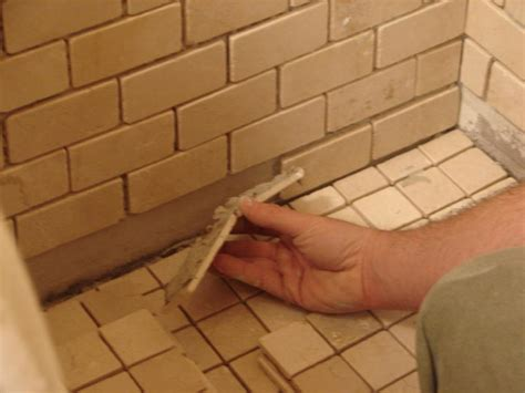 how to install bathroom floor tile how to install tile in a bathroom shower how tos diy