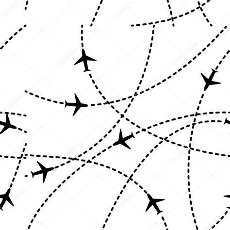 imagenes sin fondo de aviones viajes avi 243 n rutas fondo sin fisuras patr 243 n vector illus