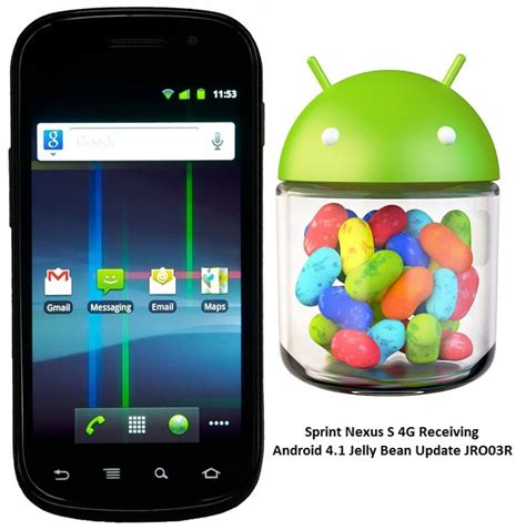 sprint galaxy s ii to receive jelly bean update finally download sprint nexus s 4g gets android 4 1 jelly bean