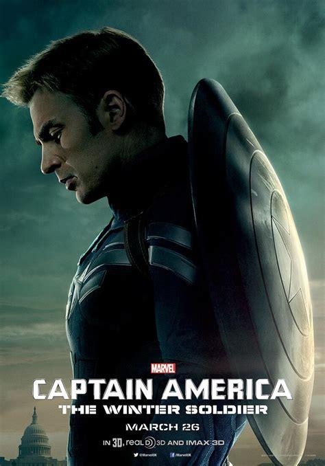 film captain america marvel captain america the winter soldier posters collider