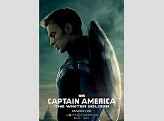 Three Character Posters for Captain America: The Winter ... Future Battle Helmet