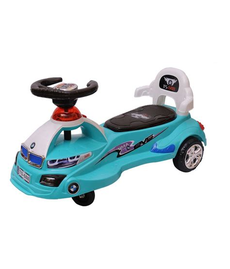 magic swing car happy kids magic swing car with lights and music blue