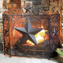 western fireplace screens rustic lone fireplace screen reclaimed furniture