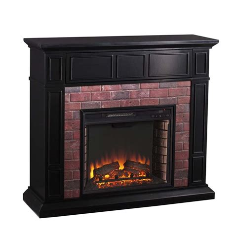 Electric Fireplace Faux by Southern Enterprises Kyledale Faux Brick Electric