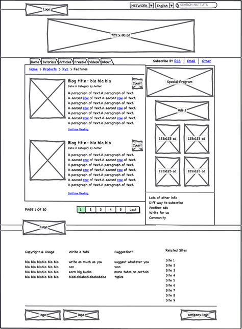 mockup design layout using balsamiq mockups for quick wireframe i m knight