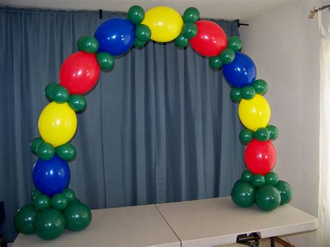 decor links how to make a table top balloon arch no helium youtube
