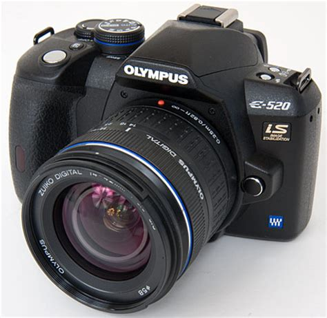 Kamera Dslr Olympus E520 olympus e 520 review digital resource page