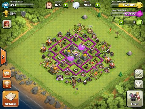 layout coc farming th6 looking for solid th6 farming base layouts