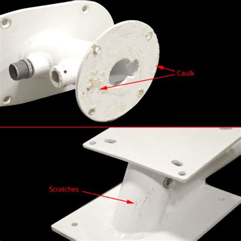 boat tower mounting brackets hydra sports deluxe edson marine boat radar tower mounting