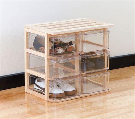 Shoe Rack Hack by Shoe Storage Hacks For Shoeaholics Bob S Self Storage