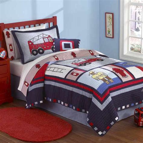 Firefighter Crib Bedding Firefighter Bedding 28 Images Fireman Quilt With Pillow Sham Townhouse Linens Truck