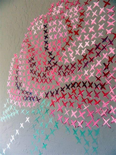 cross stitch cross stitch on the wall ideas for home garden bedroom