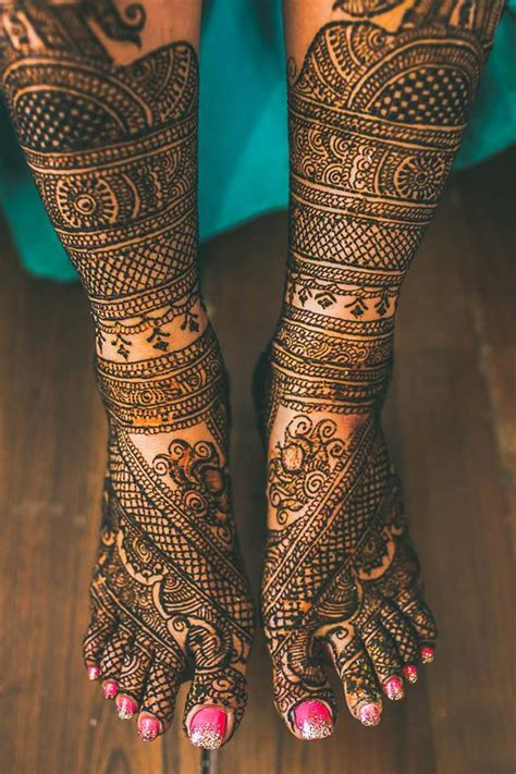 25 stunning mehendi designs for your wedding bridal