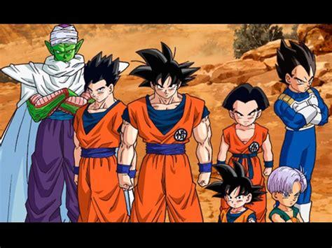 imagenes de goku y sus amigos dragon ball z goku y sus amigos volver 225 n al cine