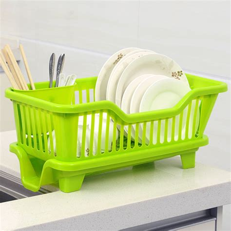 Kitchen Sink Drainers Baskets Kitchen Sink Dish Cup Utensil Drainer Drying Rack Holder