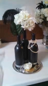 feather centerpieces sale for sale wine bottle arrangement 6 available 15 00 each
