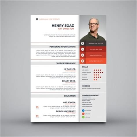 Sample Resume Format To Download by Curriculum Vitae Vectors Photos And Psd Files Free Download