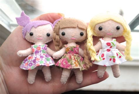 doll felt felt sewing patterns for toys and dolls