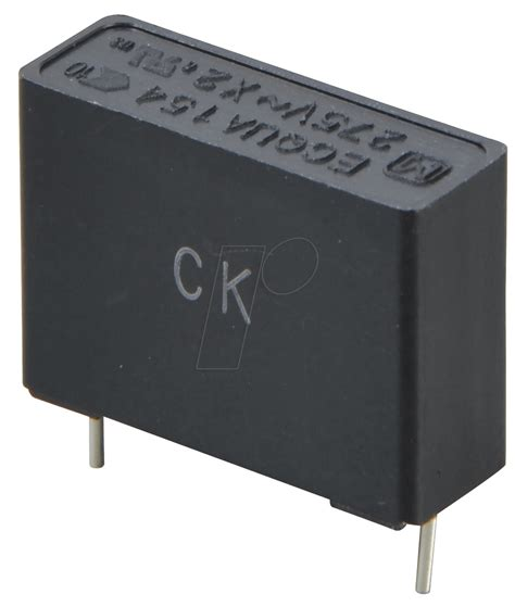 capacitor x2 pan x2 150n noise capacitor x2 275vac 10 0 15 194 181 f at reichelt elektronik
