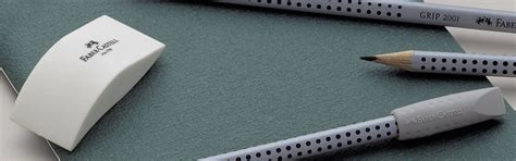 Penghapus Pensil Faber Castell Eraser Dust Free 7296 Putih faber castell penghapus