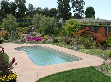Landscaped Backyards With Pools by Top Five Backyard Pool Design Ideas For The Great Enjoyment Pool Design Ideas