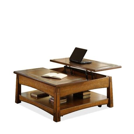 square lift top coffee table craftsman home square lift top coffee table eaton