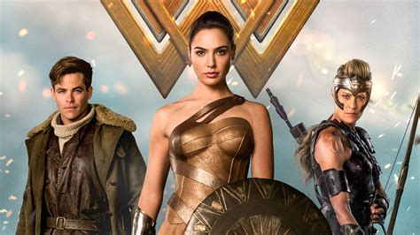 Wonder Woman 2017 Movie 4K Wallpaper   1080p Wallpaper