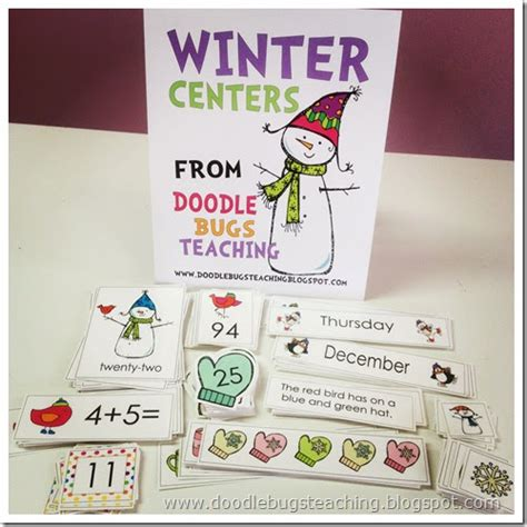 doodlebugs teaching doodle bugs teaching grade rocks winter centers
